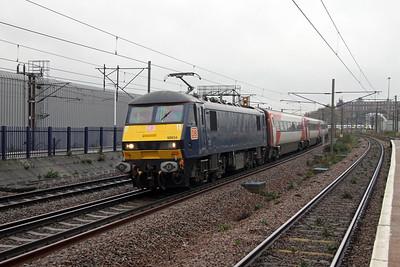 90034 Hornsey 21/11/16 1B84 Kings Cross to Leeds