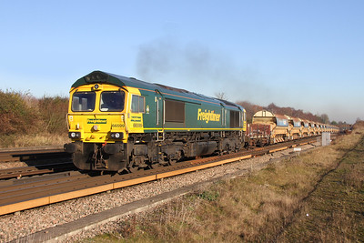 66599 Worting Junction 29/11/16 6O26 Hinksey to Eastleigh