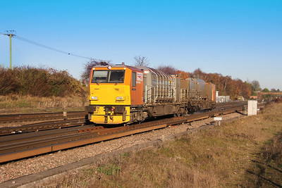 DR98914 Worting Junction 25/11/16 3S82 Eastleigh to Eastleigh