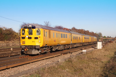 9714 Worting Junction 25/11/16 3Z05 Hither Green to Eastleigh with 37057 on the rear