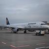 Lufthansa Airbus A321 D-AIRR at Frankfurt Airport.