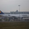 Lufthansa Boeing 747-400 D-ABVW at Frankfurt Airport.