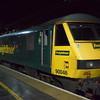 Freightliner Class 90 no. 90046 at Crewe with the Caledonian Sleeper.