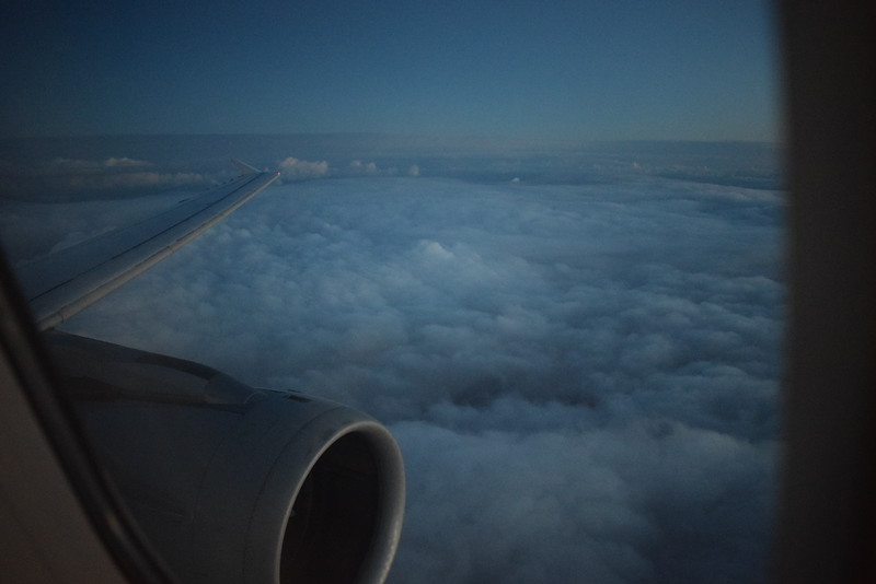 Flying from Manchester to Frankfurt on Lufthansa Airbus A321 D-AISR.