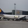 Lufthansa Boeing 747-8 D-ABYO at Frankfurt Airport.