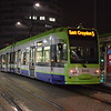 London Tramlink Bombardier Flexity CR4000 tram no. 2533 at East Croydon on the 3. Services were terminating here due to Wednesday's derailment.
