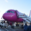 Wizzair Airbus A320 HA-LYI at London Luton Airport with my flight to Gdansk.