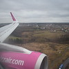 Flying from London Luton to Gdansk on Wizzair Airbus A320 HA-LYI.