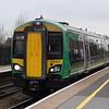 London Midland Class 172 Turbostar no. 172217 at Birmingham Moor Street on a Great Malvern service.
