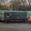 Class 08 no. D3022 (08015) at Kidderminster.