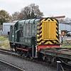 "Class 09 no. D4100 (09012) ""Dick Hardy"" at Kidderminster."