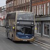 Stagecoach Gold Enviro 400 OU10BGF 15614 in Oxford on the X30.