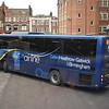 "Oxford Bus Company ""The Airline"" Volvo Plaxton Panther FF61OXF 6 at Gloucester Green bus station on the LHR to Heathrow airport."