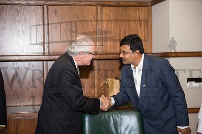 18352 India Cabinet Minister Ganta Srinivassa Rao 11-17-16