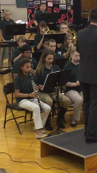 ZMS Fall Band Concert