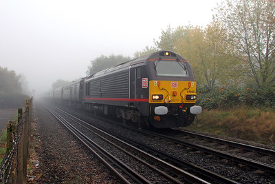 67005 Southampton Airport Parkway 27/10/16 1Z40 Andover to Dorchester