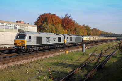 67029 Basingstoke 31/10/16 5O61 Wembley to Eastleigh with 67012