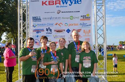 Jacksonville Marine Corps Half Marathon & 5K - 10.16.16