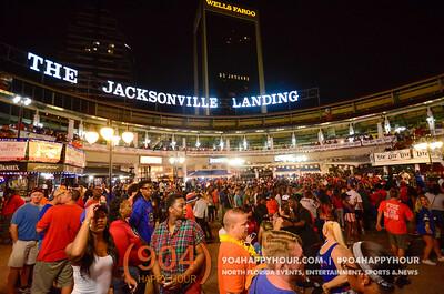 Saturday: GA-FL @ Jacksonville Landing - 10.29.16