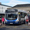 Stagecoach Volvo Wright Eclipse SV07CFU 21206 at Inverness bus station.