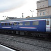 Caledonian Sleeper Mark 2 carriage no. 6703 at Inverness.