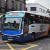 Stagecoach X10 CityConnect branded Volvo Plaxton Panther DSV943 53627 in Inverness on the 10 to Aberdeen.