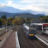 Abellio ScotRail class 170 Turbostar no. 170430 leaving Aviemore on a Glasgow service.