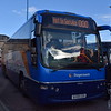 Stagecoach tri-axle Volvo Plaxton Panther SV59CGX 54062 at Inverness bus station.