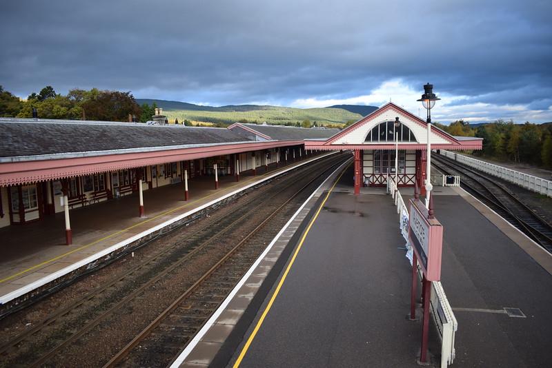 Aviemore station.