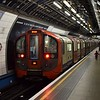 London Underground Victoria Line 2009 Stock no. 11002 leaving Victoria.