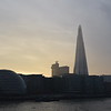 The Shard and London City Hall from Tower Bridge.