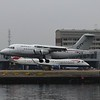 CityJet Avro RJ85 EI-RJO landing at London City Airport.