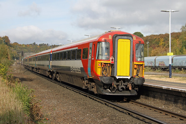 2405 Micheldever 21/10/16 5L46 Eastleigh to Ely Papworth Sidings