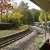 The seemingly disused Haste Hill station on the Ruislip Lido Railway.