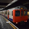 London Underground District Line D-stock no. 7034 at Cannon Street.