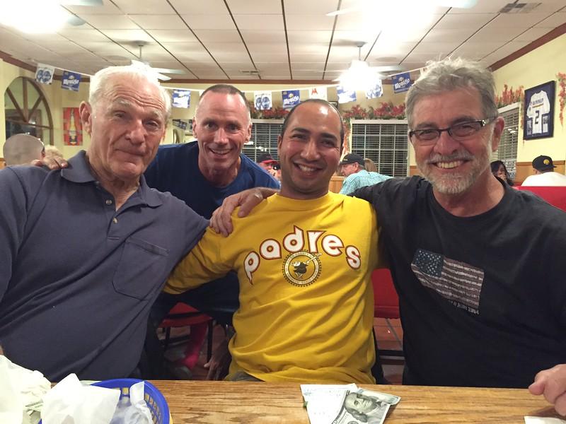 Bill Siebold, Scott Dinslage, Wesley Ross and Bob Skirvin