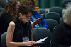 17951 Stephanie Dickey, Encountering Shakespeare Conference with Curtis Perry 10-21-16