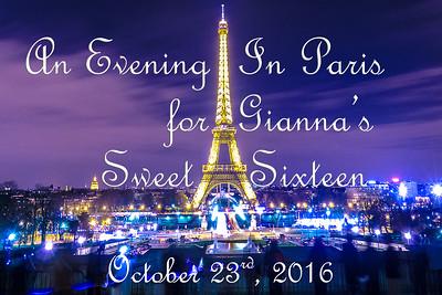 2016-10-23 Gianna's Sweet 16