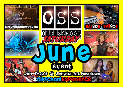 More Event 411:  oldschoolsaturday.com Follow us on Twitter, FB, Vimeo, SoundCloud, and Instagram as well.