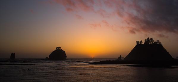 Sunset at La Push.