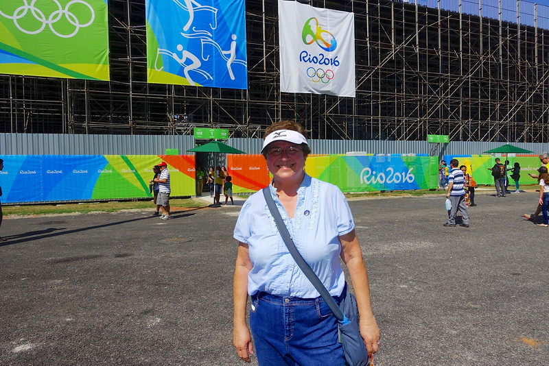 Equestrian Center:  Our first day in Rio, and our first event--dressage.