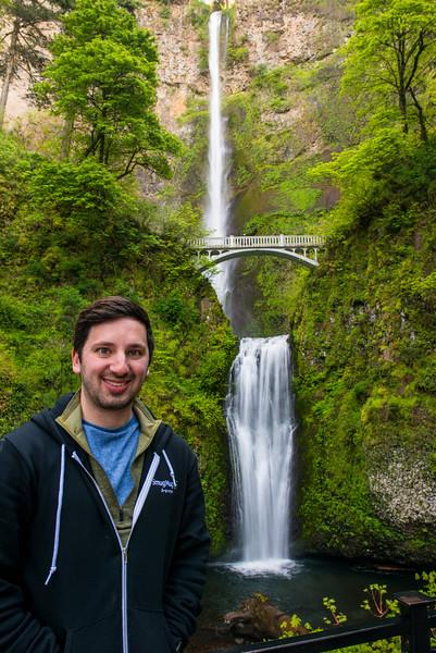 Me at Multnomah Falls