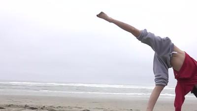 Slo-Motion Cartwheel