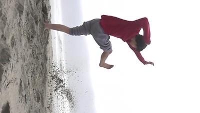 Slo-Motion Kick