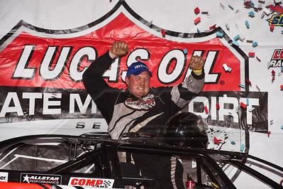 AJ Diemel in victory lane