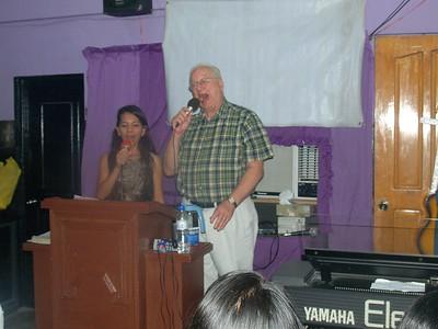 PBC - May 2016 Pastor Bob Sharpe comes to preach-
