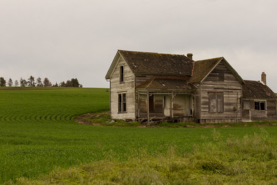 Abandoned Palouse Farm House
