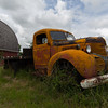 Palouse Farm and Abandoned Truck