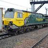 70017 0906/4E22 Felixstowe-Doncaster passing Peterborough.