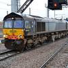 66419 0825/4L93 Crewe-Felixstowe passes Peterborough.